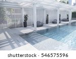 swimming pool | Shutterstock . vector #546575596