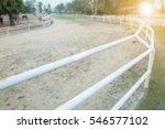 blur image racecourse | Shutterstock . vector #546577102