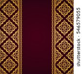 arabic invitation card. | Shutterstock .eps vector #546579055