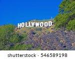 hollywood california   jan. 1 ... | Shutterstock . vector #546589198