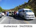 blur image car accident