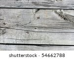 close up of gray wooden fence... | Shutterstock . vector #54662788
