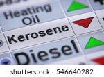 index of kerosene. down.   Shutterstock . vector #546640282