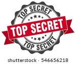 top secret. stamp. sticker.... | Shutterstock .eps vector #546656218