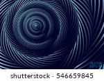 abstract curved spiral... | Shutterstock .eps vector #546659845