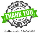 thank you. stamp. sticker. seal.... | Shutterstock .eps vector #546660688