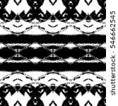 melting seamless black and... | Shutterstock . vector #546662545