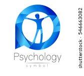 modern man logo sign of... | Shutterstock .eps vector #546663082