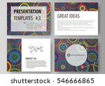 set of business templates for... | Shutterstock .eps vector #546666865