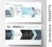 business templates in hd format ... | Shutterstock .eps vector #546668776