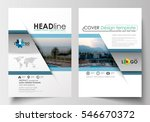 business templates for brochure ... | Shutterstock .eps vector #546670372