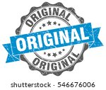 original. stamp. sticker. seal. ... | Shutterstock .eps vector #546676006