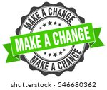 make a change. stamp. sticker.... | Shutterstock .eps vector #546680362