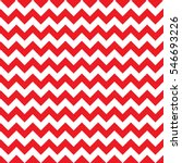 Christmas chevron pattern seamless background texture in red | Shutterstock vector #546693226