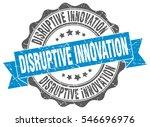 disruptive innovation. stamp.... | Shutterstock .eps vector #546696976
