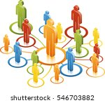 spider diagram network | Shutterstock .eps vector #546703882