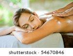 an attractive caucasian woman... | Shutterstock . vector #54670846