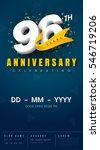 96 Years Anniversary Invitatio...