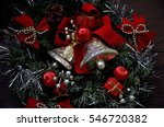 Christmas Decoration With Bells