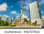 the angel of independence... | Shutterstock . vector #546727816