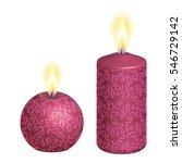 candles | Shutterstock .eps vector #546729142