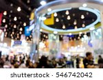 blur money expo exhibition for... | Shutterstock . vector #546742042