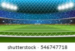 vector illustration of soccer... | Shutterstock .eps vector #546747718