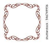 frames .vintage vector.well... | Shutterstock .eps vector #546749956