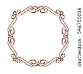 frames .vintage vector.well... | Shutterstock .eps vector #546750016