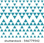 abstract blue geometric hipster ... | Shutterstock .eps vector #546779542