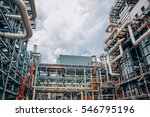 industrial zone the equipment... | Shutterstock . vector #546795196