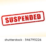 illustration of suspended text  | Shutterstock .eps vector #546795226