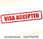 illustration of visa accepted... | Shutterstock .eps vector #546796996