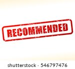 illustration of recommended... | Shutterstock .eps vector #546797476