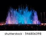 Night View Of Magic Fountain...