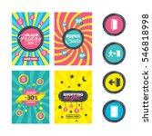 sale website banner templates.... | Shutterstock .eps vector #546818998