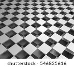abstract 3d plane with squares... | Shutterstock .eps vector #546825616
