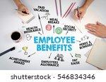 employee benefits concept. the... | Shutterstock . vector #546834346