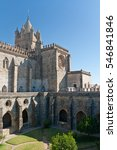 Small photo of The Cathedral of Evora is the seat of the Archdiocese of Evora.