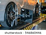 closed up of an auto wheel  ...   Shutterstock . vector #546860446