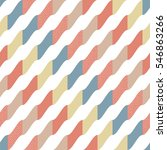 wavy diagonal stripes of... | Shutterstock .eps vector #546863266