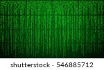 abstract cyberspace with... | Shutterstock .eps vector #546885712