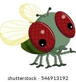 flies cartoon   Shutterstock .eps vector #546913192