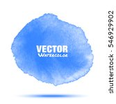 bright blue transparent... | Shutterstock .eps vector #546929902