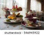 afternoon tea | Shutterstock . vector #546945922