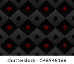 black and red seamless pattern...   Shutterstock .eps vector #546948166