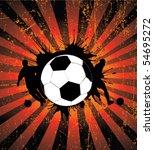 football poster   Shutterstock .eps vector #54695272
