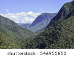 mountains and sky background.... | Shutterstock . vector #546955852