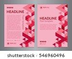 business brochure flyer design...   Shutterstock .eps vector #546960496