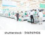 abstract blur supermarket... | Shutterstock . vector #546969406